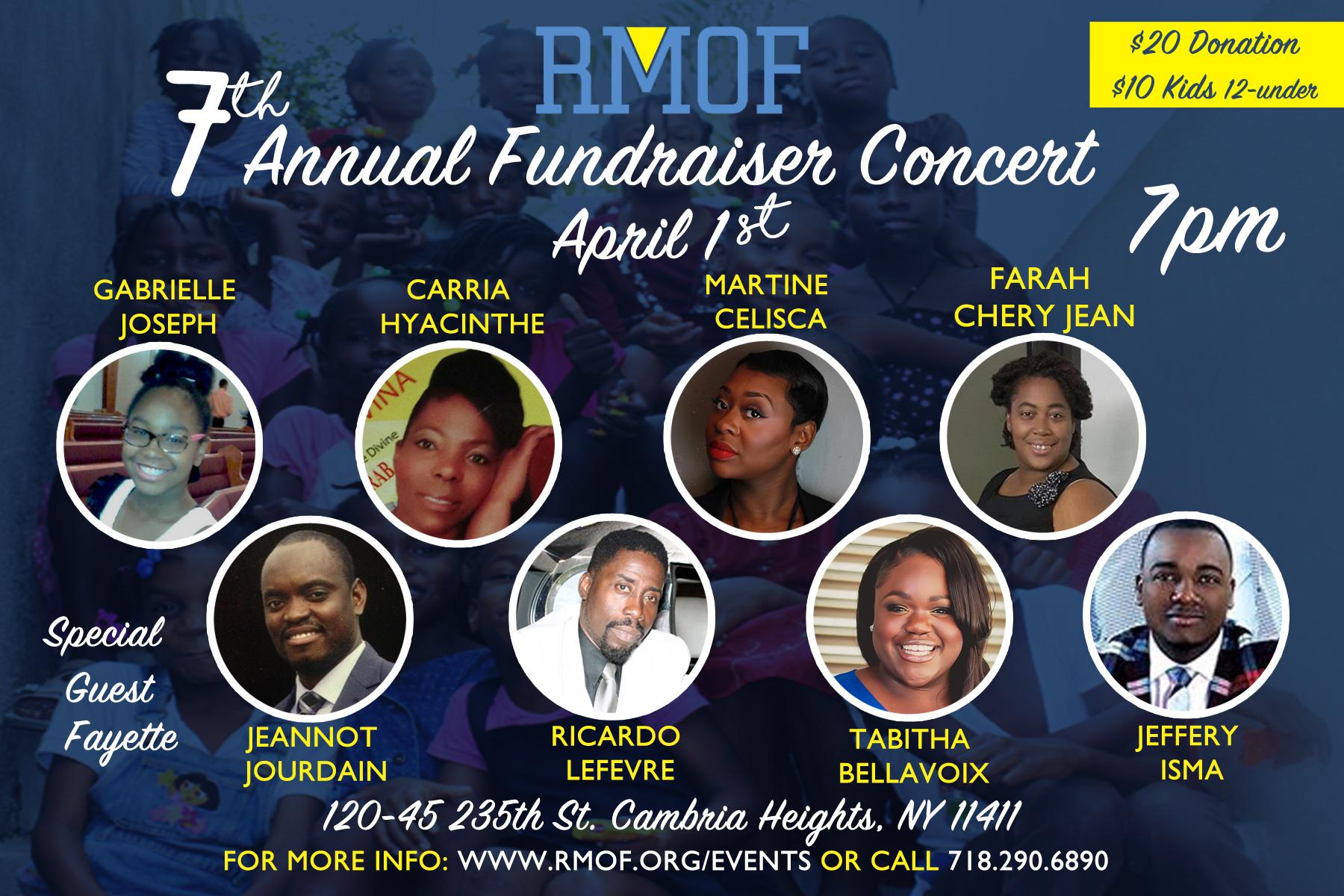 RMOF Fundraiser 2017 Flyer