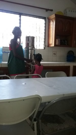 7. The younger ones helping out